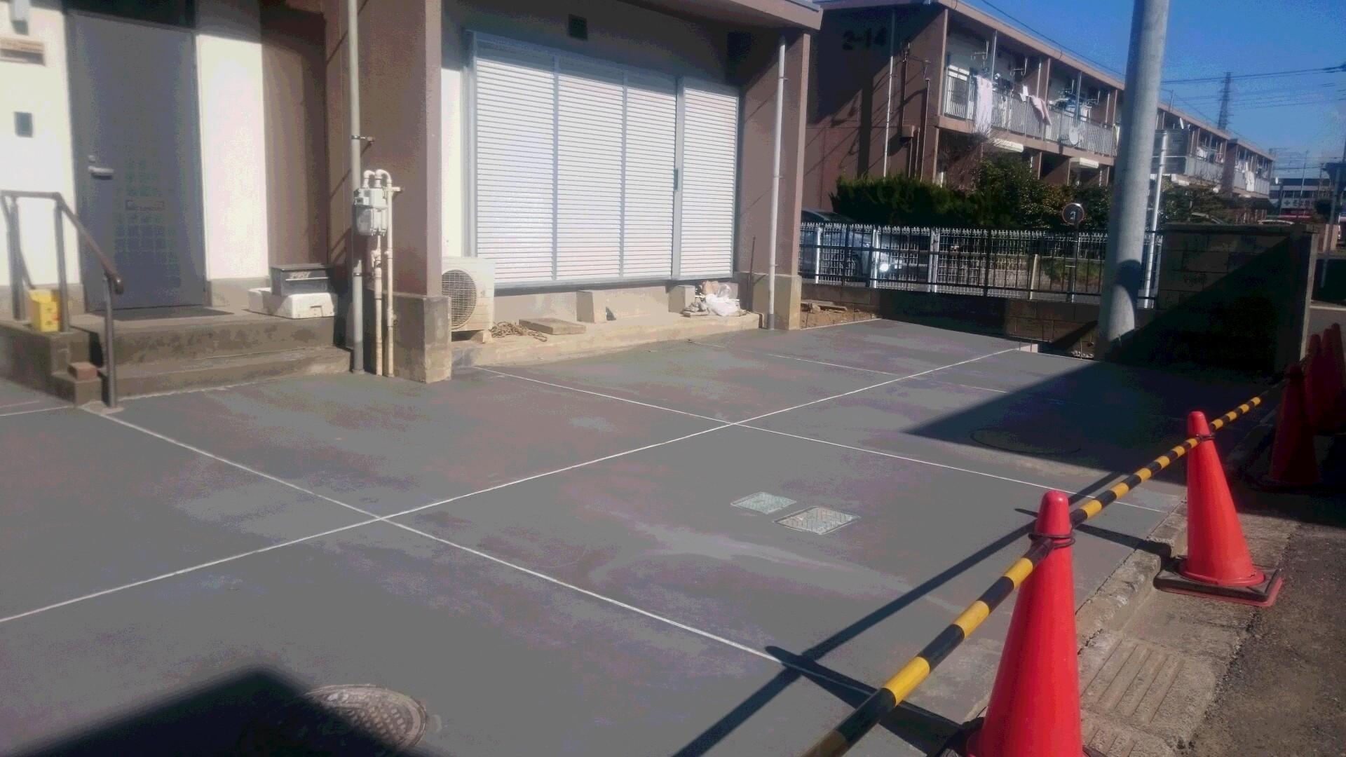 3月3日の駐車場